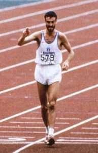 Gelindo Bordin in maratona